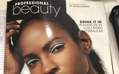 We are in the April edition of Professional Beauty magazine!